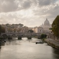 Late afternoon light, Tiber River, Rome
